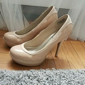 Nude Baby Phat Pumps 7.5
